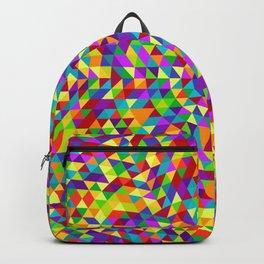 Happy triangle mandala 2 Backpack