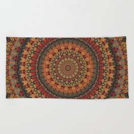 Mandala 563 Beach Towel