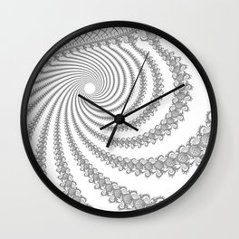 Troughs Wall Clock