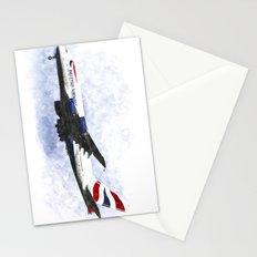 British Airways Airbus A380 Art Stationery Cards