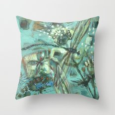 Flyfishing_1 Throw Pillow