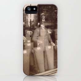 Eugène Atget - Avenue des Gobelins iPhone Case