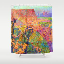 Jan Toorop November Shower Curtain