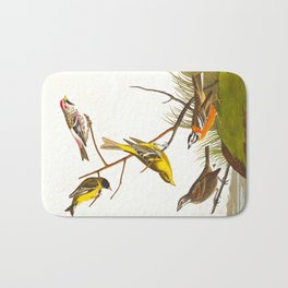 Arkansaw Siskin Bird Bath Mat