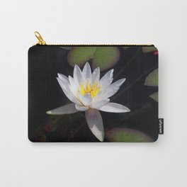 The white nymphaea Carry-All Pouch
