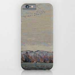 Tom Thomson - Wild Geese - Canada, Canadian Oil Painting - Group of Seven iPhone Case