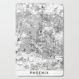 Phoenix White Map Cutting Board
