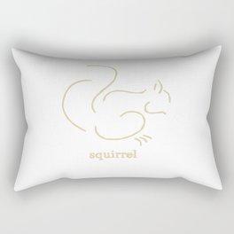 Squirell Rectangular Pillow