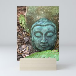 Earth Buddha by Mandy Ramsey, Haines, Alaska Mini Art Print