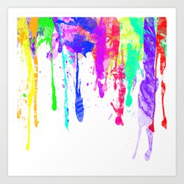 Ink Splat Art Print