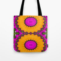twins Tote Bags featuring Twins by Kimberly McGuiness