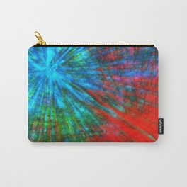 Abstract Big Bangs 001 Carry-All Pouch