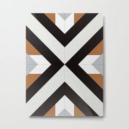 Dynamic Geometry 12 Metal Print