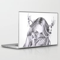 sister Laptop & iPad Skins featuring Begonia's Sister by April Alayne
