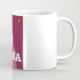 Vintage NASA Space poster Coffee Mug