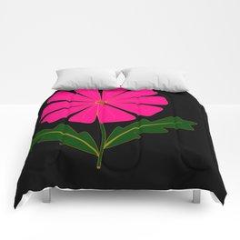 Big Pink Flower Comforters