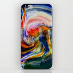 Color in Motion iPhone & iPod Skin