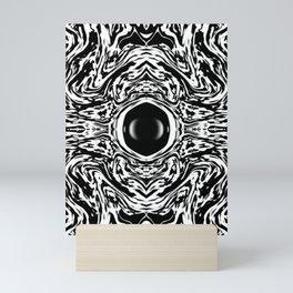 Stilted Saphire Mini Art Print