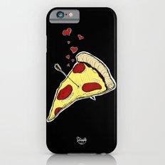 Pizza Love - Black Slim Case iPhone 6