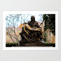 religious Art Prints featuring Religious by Nevermind the Camera
