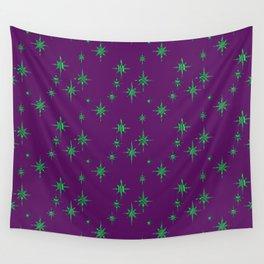 Malachite Stars Wall Tapestry