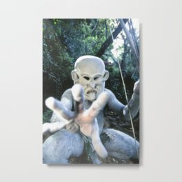 Papua New Guinea Ghost Metal Print