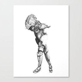 Automa II Canvas Print