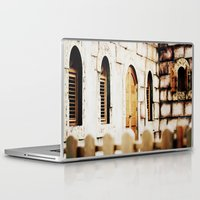 castle Laptop & iPad Skins featuring Castle by Irène Sneddon