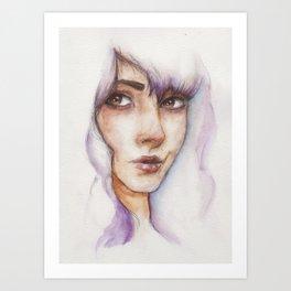 Light & Glass Art Print