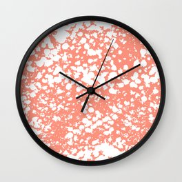 Abstract minima modern painting office dorm college nursery decor canvas art print Wall Clock