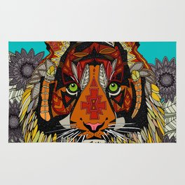 tiger chief Rug