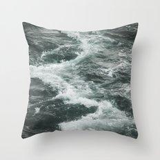 Of The Sea Throw Pillow