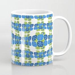 Retro Vintage Micro Pattern Mid Century Print Coffee Mug