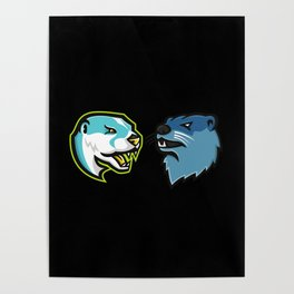 They Are Otter Enemies Poster
