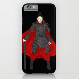 An ancient Chinese warrior swordsman, warrior, martial arts master, assassin,ranger,Ke Jing iPhone Case