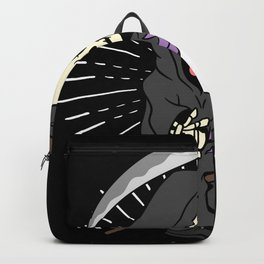 Halloween Skull Trick Or Treat Bone Backpack