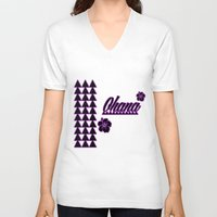 ohana V-neck T-shirts featuring Ohana by Lonica Photography & Poly Designs