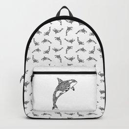 Tribal Orca Backpack