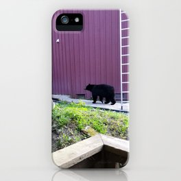 Hello neighbor! Just finished your work? iPhone Case