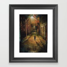 Minister Of God's Justice Framed Art Print
