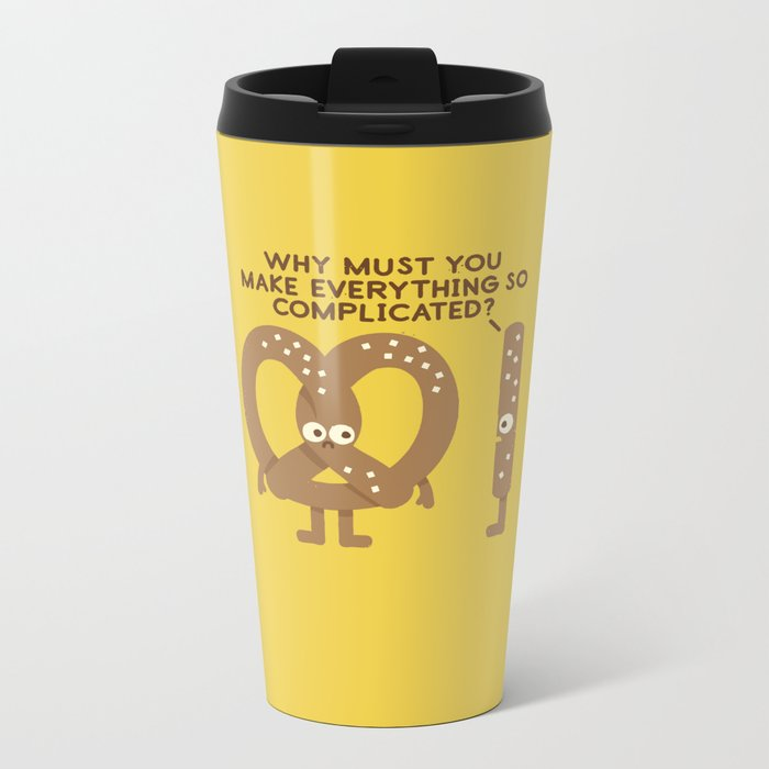Straight Talk Metal Travel Mug