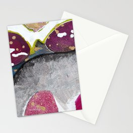 Just Float Hand Painted Acrylic Abstract Stationery Cards