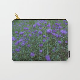 Field of Purple Carry-All Pouch