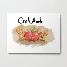 CrabApple Metal Print