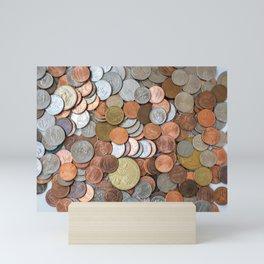 Coins Mini Art Print