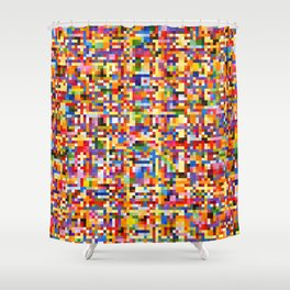 Uplink Detail Shower Curtain