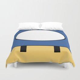 Minimal Toad blue Duvet Cover