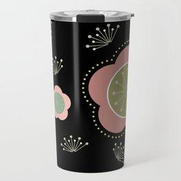 Japanese-inspired Plum Blossoms Travel Mug