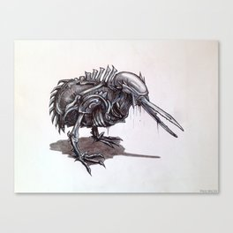 Kiwi Xenomorph Canvas Print