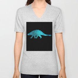 Ankylosaurus Unisex V-Neck
